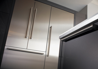 University City, MO Stainless Steel Kitchen Cabinets