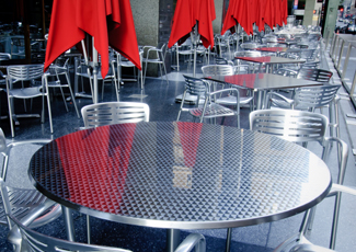 University City, MO Stainless Steel Table