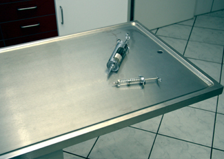 Creve Coeur, MO Stainless Table