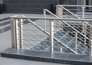 Affton, MO Stainless Steel Railings